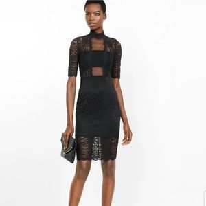 NWOT Express midi dress
